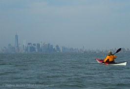 Manhattan vista ahead