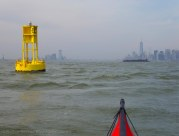 At the yellow buoy again