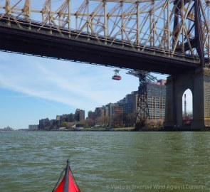 Queensboro (Ed Koch) Bridge and the Roosevelt Island tram