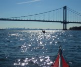 Once more under the Bronx-Whitestone Bridge