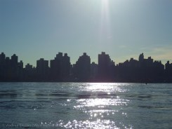 Manhattan silhouette
