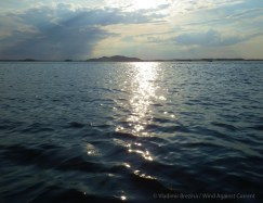 Moody seascape