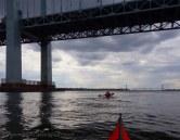 Back under Throgs Neck Bridge
