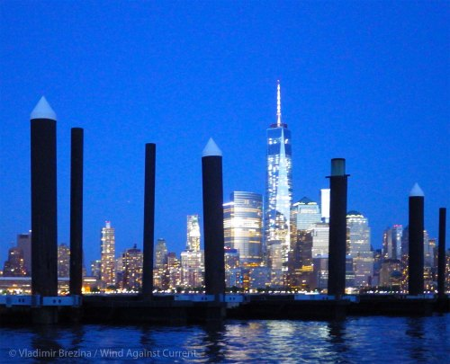 Manhattan shines forth