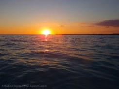 Last minutes of the sun