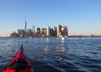 ... before setting off to cross to Manhattan