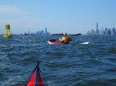 To the yellow buoy marking Bay Ridge Flats