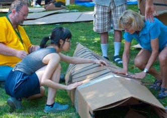 Cardboard-kayak-race-3