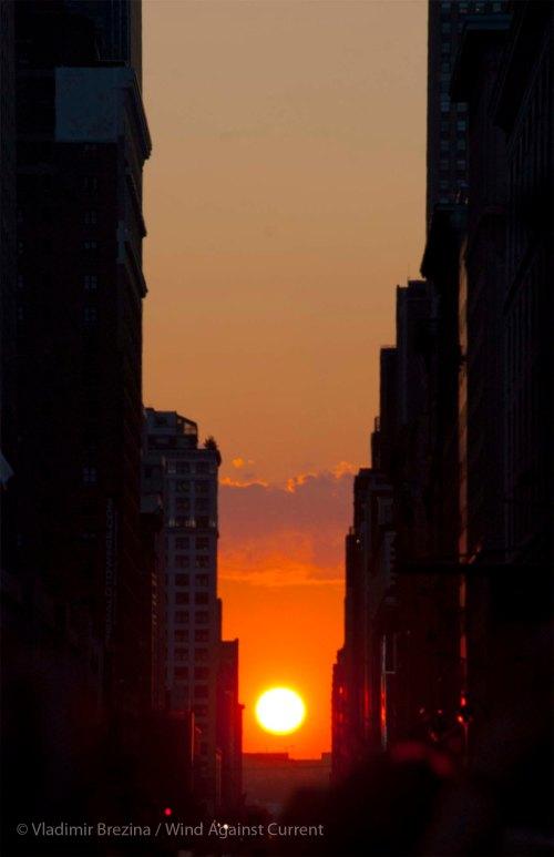 Manhattanhenge 17