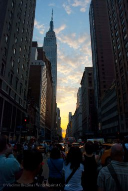 The venue: 34th Street and Park Avenue, Manhattan