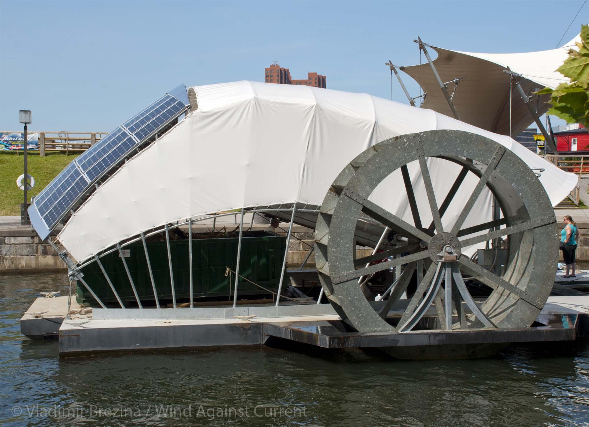 Mr Trash Wheel Baltimore S Googly Eyed Collector Chesapeake Bay