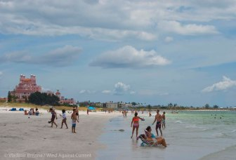 Beach scene at the Don CeSar 1