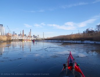 Ice in the Morris Canal 6