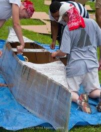 Cardboard Kayak Race 10