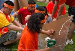 Cardboard Kayak Race 4