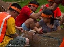 Cardboard Kayak Race 6