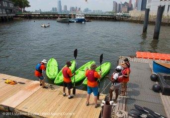Cardboard Kayak Race 11