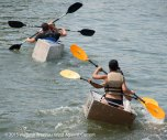 Cardboard Kayak Race 17
