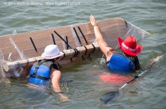 Cardboard Kayak Race 18