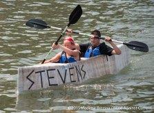 Cardboard Kayak Race 19