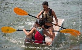 Cardboard Kayak Race 20