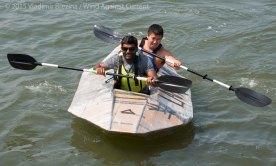 Cardboard Kayak Race 21