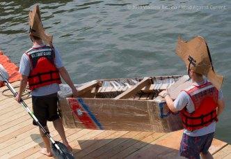 Cardboard Kayak Race 23