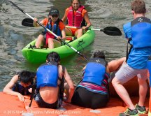 Cardboard Kayak Race 22