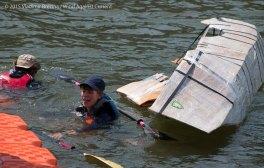 Cardboard Kayak Race 26