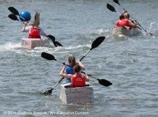 Cardboard Kayak Race 27