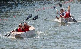 Cardboard Kayak Race 30