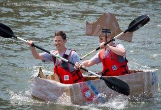 Cardboard Kayak Race 34
