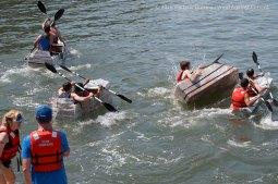 Cardboard Kayak Race 39
