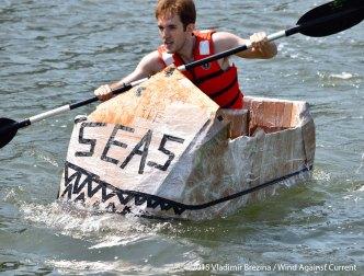 Cardboard Kayak Race 47