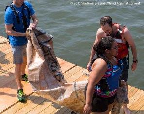 Cardboard Kayak Race 46