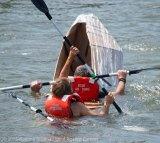 Cardboard Kayak Race 49