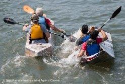 Cardboard Kayak Race 51