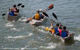 Cardboard Kayak Race 53