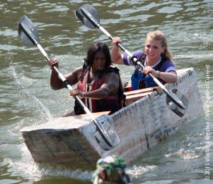 Cardboard Kayak Race 56