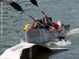 Cardboard Kayak Race 57