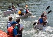 Cardboard Kayak Race 58