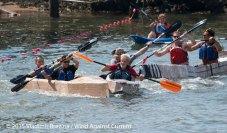 Cardboard Kayak Race 61