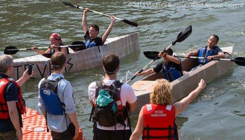 Cardboard Kayak Race 63