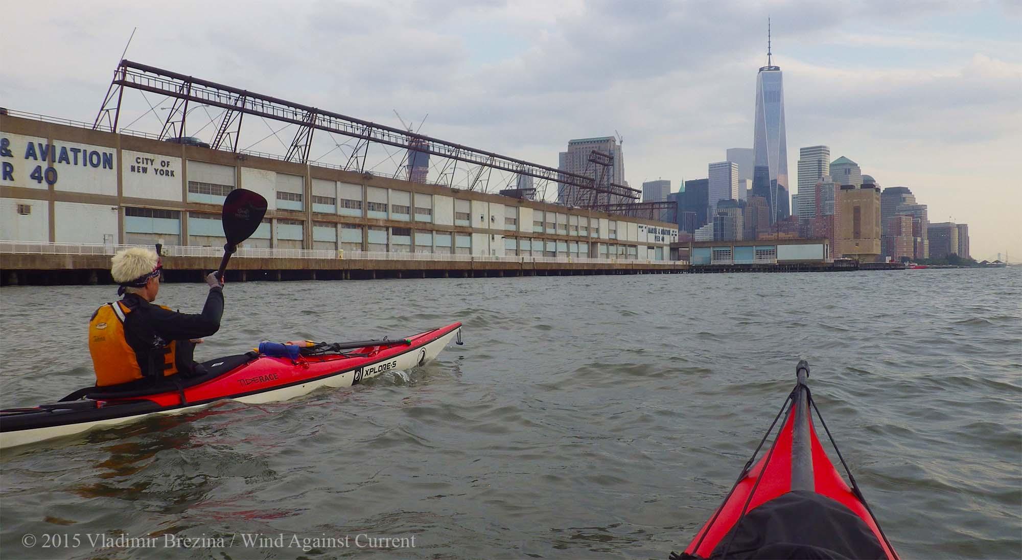 Manhattan Skyline Kayak Tour
