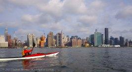 Manhattan circumnavigation 28