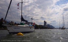 Manhattan circumnavigation 54