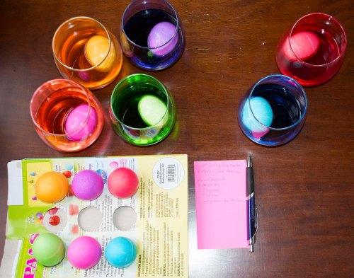 Easter egg science project 3