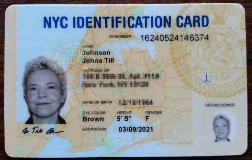 New York City ID