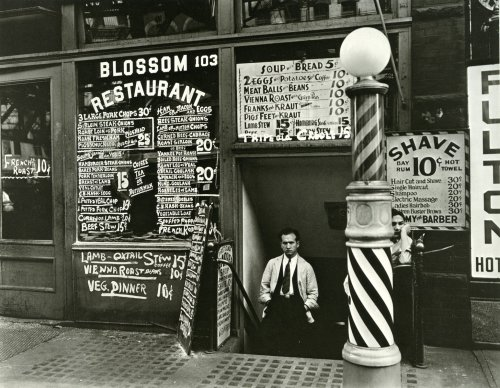 blossom_restaurant_103_bowery_by_berenice_abbott_in_1935